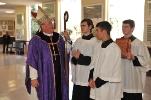 Cardinal Dolan Visits Iona Preparatory School