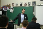 Iona Prep Alum Peter Mullen '97 Returned as Guest Speaker