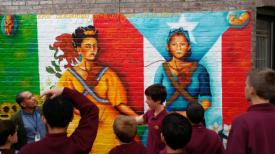 8th-Graders celebrate Hispanic Heritage Month with tour of Spanish Harlem