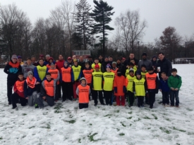 Turkey Bowlers brave snow to raise $660 for Gardini '16