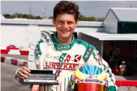 Michael d'Orlando '20 finishes season as top-ranked TaG kart racer