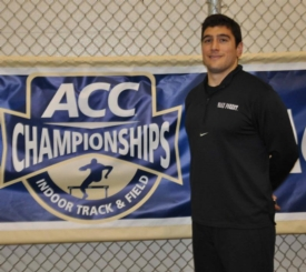 TEDDY MOTTOLA '09 COMPETES AT THE 2014 ACC TRACK & FIELD CHAMPIONSHIPS