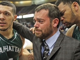 Lower School Alumnus Masiello '91 wins 2nd straight MAAC title at Manhattan helm
