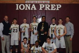 Undefeated 8th Grade Basketball wins Westchester A Division Title over St. Mary's