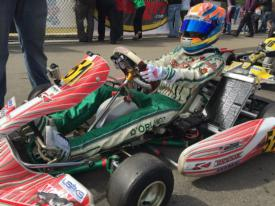 Nick d'Orlando LS'17 earns back-to-back wins in Pro Kart Series kickoff
