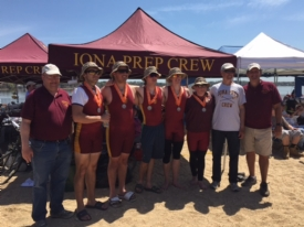Iona Prep Crew has sterling day at Long Island Championships