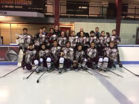 Iona Prep Hockey Teams Excel at 'Defending the Blue Line' for Charity