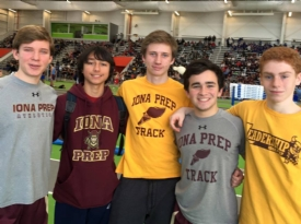 12 Running Gaels among top 10 in Westchester track and field events