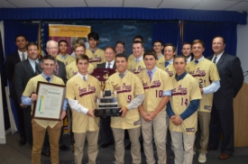 County Executive Robert P. Astorino Congratulates Iona Prep 2016 Baseball City Champions