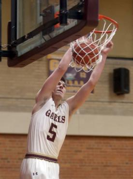 Gaels Basketball Ranked No. 1 by Journal News following Holy Cross win