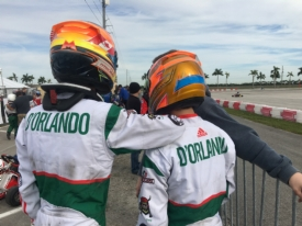 Watch the d'Orlando Brothers race LIVE this weekend