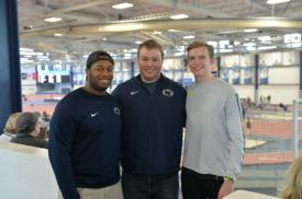 Iona Prep track & field alumni compete at Penn State University