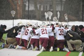 Watch the Varsity Lacrosse team live in their first game of the season vs. Chaminade HS