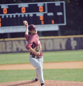 Senior Joe LaSorsa throws a No-Hitter vs. All Hallows
