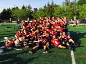 Gaels Lacrosse wins their third consecutive AA CHSAA City Championship