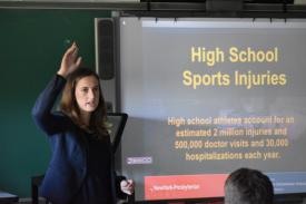Former Track & Field Coach Returns to Talk Injury Prevention