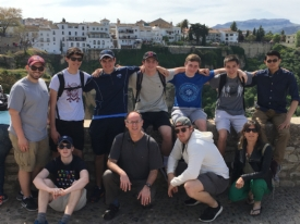 Gaels reflect back on an Easter triduum spent in España