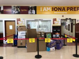 Iona Prep Junior Organizing Weeklong Hurricane Relief Collection, Direct Delivery of Donations