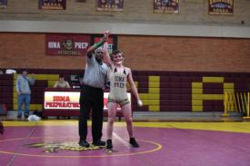 REAL REALBUTO: Brown-Bound Senior Wins Shoreline Wrestling Title, Records 100th Victory