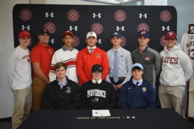 10 Iona Preparatory Scholar-Athletes Commit to Playing Sports in College, Including 8 Division I Programs