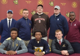 Iona Prep football sending Westchester-best 5 scholar-athletes to D-I schools, 10 overall