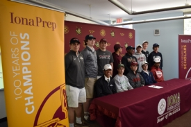 14 More Iona Preparatory Scholar-Athletes Commit to College Sports Teams, Bringing Total to 31