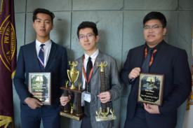 Minheng Gong, Math Team win Catholic Math League National Title
