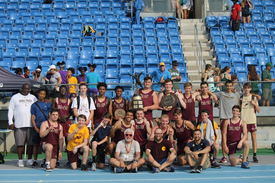The Iona Prep track and field team won the Catholic State Intersectional meet for the first time in 31 years.