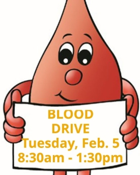 Upper School to Host Blood Drive on Tuesday, Feb. 5
