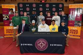 12 More Iona Preparatory Scholar-Athletes Commit to Play Collegiate Sports